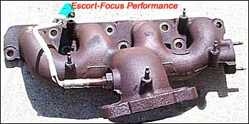 SPI exhaust manifold